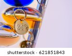alcohol thermometer for... | Shutterstock . vector #621851843