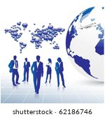 business concept design | Shutterstock .eps vector #62186746