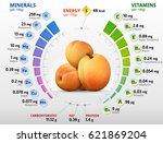 vitamins and minerals of... | Shutterstock .eps vector #621869204