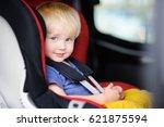 portrait of pretty toddler boy... | Shutterstock . vector #621875594
