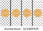 geometric seamless vector... | Shutterstock .eps vector #621885929