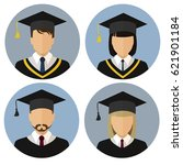 the icons set. student  student.... | Shutterstock .eps vector #621901184
