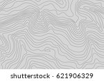 topographic map background... | Shutterstock .eps vector #621906329