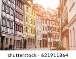 traditional house in the german ... | Shutterstock . vector #621911864