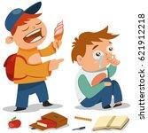 Bullying Vector Cartoon...
