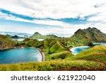 padar island  komodo national... | Shutterstock . vector #621922040