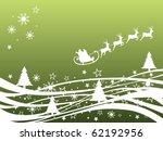 winter scene   christmas card   ... | Shutterstock .eps vector #62192956
