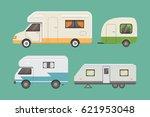 Retro Camper Trailer Collectio...