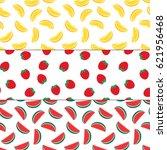 fruits pattern   lemon  ... | Shutterstock .eps vector #621956468