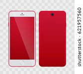 high detailed realistic red... | Shutterstock .eps vector #621957560