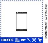 smartphone icon flat. simple...