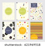collection of creative covers.... | Shutterstock .eps vector #621969518