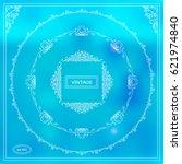 vector set of calligraphic...   Shutterstock .eps vector #621974840