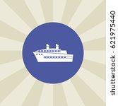 ship icon. sign design.... | Shutterstock .eps vector #621975440