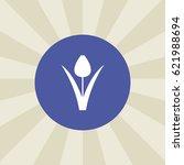 flower icon. sign design.... | Shutterstock .eps vector #621988694
