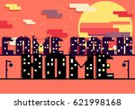 inscription come back home made ... | Shutterstock .eps vector #621998168