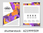 abstract vector layout... | Shutterstock .eps vector #621999509