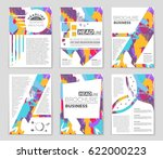 abstract vector layout... | Shutterstock .eps vector #622000223