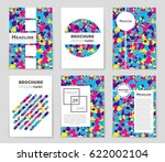 abstract vector layout... | Shutterstock .eps vector #622002104
