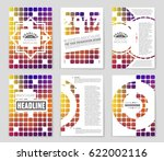 abstract vector layout... | Shutterstock .eps vector #622002116
