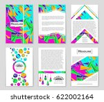 abstract vector layout... | Shutterstock .eps vector #622002164