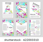 abstract vector layout... | Shutterstock .eps vector #622003310