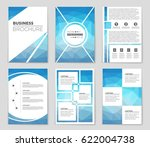 abstract vector layout... | Shutterstock .eps vector #622004738