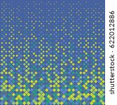 vector rhombus pattern.... | Shutterstock .eps vector #622012886