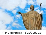 Statue Of Pope John Paul Ii At...