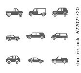 car icons vector illustration | Shutterstock .eps vector #622022720