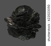 abstract 3d render   deformed... | Shutterstock . vector #622023350