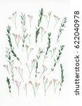 flowers composition. pattern... | Shutterstock . vector #622040978