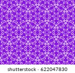 romantic geometric floral... | Shutterstock .eps vector #622047830