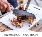 barbecued suckling pig   soft... | Shutterstock . vector #622048664
