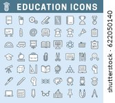 set of school and education... | Shutterstock .eps vector #622050140