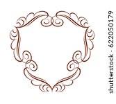 frame in retro style.vector... | Shutterstock .eps vector #622050179