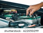 cropped image of automobile... | Shutterstock . vector #622050299