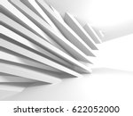abstract architecture modern... | Shutterstock . vector #622052000