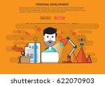 vector illustration of personal ... | Shutterstock .eps vector #622070903