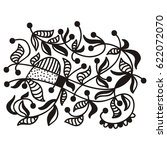 beautiful abstract nature... | Shutterstock .eps vector #622072070