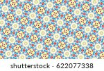 sloping colorful ornament for... | Shutterstock . vector #622077338