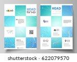 business templates for brochure ... | Shutterstock .eps vector #622079570