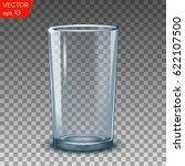 empty transparent water... | Shutterstock .eps vector #622107500