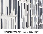 gray background of a big... | Shutterstock . vector #622107809