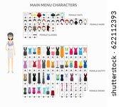 character creation programmer | Shutterstock .eps vector #622112393