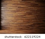 natural interior with wood wall ... | Shutterstock . vector #622119224