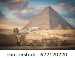 image of the great pyramids of... | Shutterstock . vector #622120220