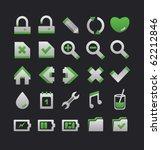 modern web icons set | Shutterstock .eps vector #62212846