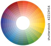 color wheel | Shutterstock .eps vector #62213416