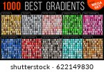 Big collection colorful metallic gradients consisting of 1000 backgrounds of different glossy colors.